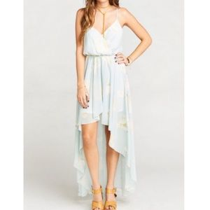 NWT SHOW ME YOUR MUMU Molly Mullet Seashell Hi Low